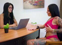 Porno brasileiro lésbico Shayene Samara e Elisa Sanches