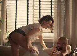 Porno Letícia Lima pelada transando em Amor de Mãe