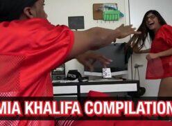 Mia Khalifa compilação porno dos melhores videos de sexo da famosa