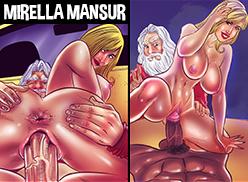Mirella Mansur liberando tudo em HQ Pornô
